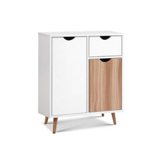 Artiss Buffet Sideboard Cabinet Storage Hallway Table Kitchen Cupboard Wooden FURNI-L-BF11-WHWD