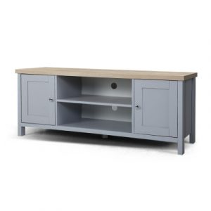 Artiss TV Cabinet Entertainment Unit Stand French Provincial Storage Shelf Wooden 130cm Grey FURNI-L-TV130A-GY-AB