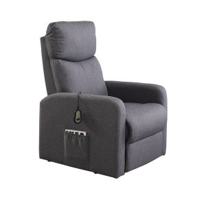 Levede Electric Massage Chair Heating Recliner Chairs Armchair Lift Lounge Sofa OF1015-F-GY