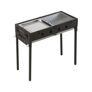 Charcoal BBQ Grill Portable Hibachi Outdoor Barbecue Set Camping Picnic Grills OU0114