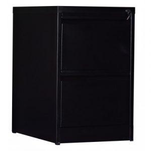 2-Drawer Shelf Office Gym Filing Storage Locker Cabinet V63-799157