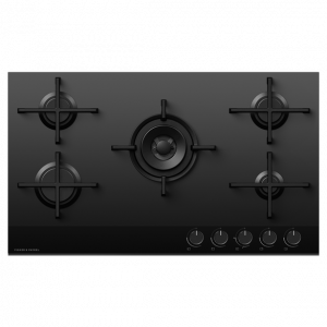Fisher & Paykel CG905DNGGB4 900mm Natural Gas on Glass Cooktop