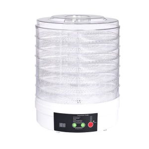 7 Trays Food Dehydrators Fruit Vegetable Dryer Beef Jerky Preserve KT0401-7-WH