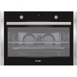 Omega OBO960X 90cm 9 Function Electric Wall Oven