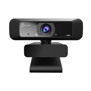 J5create JVCU100 USB Full HD Webcam with 1080p/30 FPS