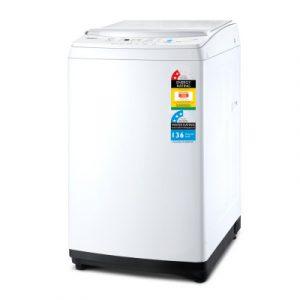 Devanti 10kg Top Load Washing Machine Quick Wash 24h Delay Start Automatic TWM-10KG-WH