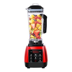 2L Commercial Blender Mixer Food Processor Kitchen Juicer Smoothie Ice Crush Red AP0029-RD