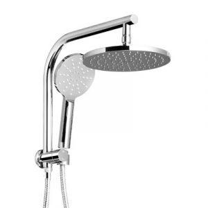 Cefito WELS 9'' Rain Shower Head Set Round Handheld High Pressure Wall Chrome SHOWER-A1-RO-9-SI