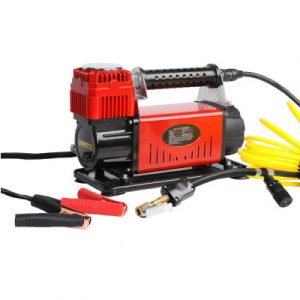 Giantz 12V Portable Air Compressor - Red AC-320L-RD