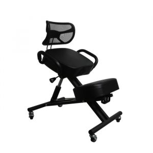 Ergonomic Kneeling Chair Office Home Knee Seat Posture Back Pain Stretch Rest DH1031-BK