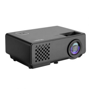 Devanti Mini Video Projector Wifi USB Portable 1000 Lumens HD 1080P Home Theater VP-810-WIFI-BK