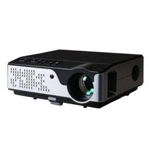Devanti Video Projector Wifi USB Portable 4000 Lumens HD 1080P Home Theater Black VP-826-WIFI-BK