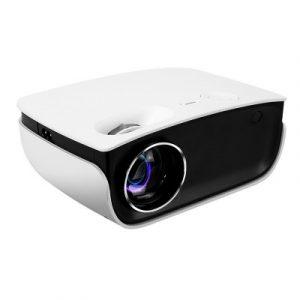 Devanti Mini Video Projector Wifi USB HDMI Portable 2000 Lumens HD 1080P Home Theater White VP-850-WIFI-WH