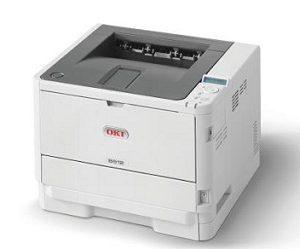 OKI B512dn Mono A4 PCL 530 Sheet 45ppm Duplex Network Printer 45762026