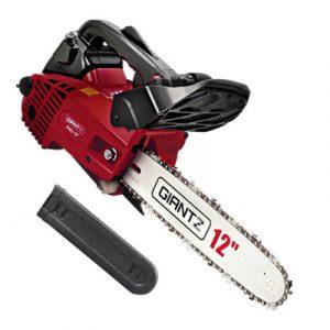 Giantz 25CC Commercial Petrol Chainsaw - Red & Black CSAW-25CC-OGBK