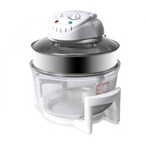 17L Turbo Convection Oven Halogen Cooker Low Fat Electric Air Fryer White FR1006-WH