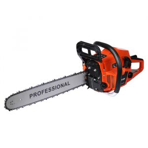 Petrol Chainsaw Commercial E-Start 20 Bar Tree Pruning Chain Saw Top Handle 52CC HW0095