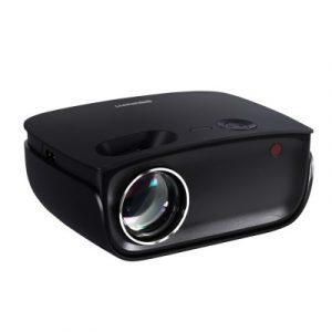 Devanti Mini Video Projector Wifi USB HDMI Portable 2000 Lumens HD 1080P Home in Black VP-850-WIFI-BK