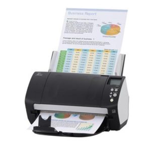Fujitsu Fi-7160 Document Scanner A4 Duplex 60ppm 80sht 600 Dpi Usb3 FJ3011