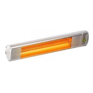 Devanti Electric Infrared Radiant Strip Heater Outdoor Indoor Halogen 2000W HLH-E72-2000-AL