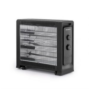 Devanti 2200W Electric Infrared Radiant Convection Panel Heater Portable IH-G21-BK
