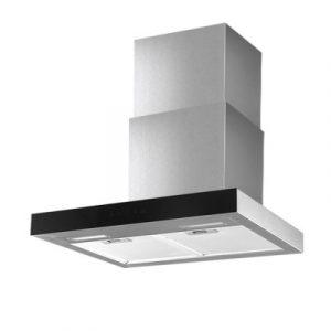 Devanti Rangehood 600mm Range Hood 60cm Stainless Steel Glass Kitchen Canopy RH-D-M75-60-SR-BK