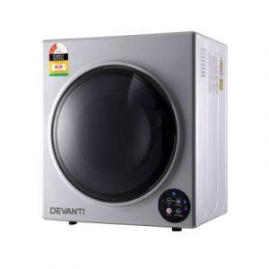 Devanti 5kg Vented Tumble Dryer - Silvere TD-B-5KG-SR