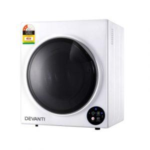 Devanti 5kg Vented Tumble Dryer - White TD-B-5KG-WH