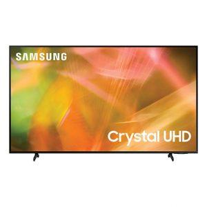"""Samsung 55"""" AU8000 Crystal UHD 4K Smart TV (2021) UA55AU8000WXXY"""