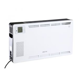 Spector 2200W Metal Portable Electric Panel Heater Convection Panel Timer White PH1007