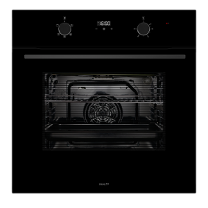 INALTO 60cm 80L 5 Function Electric Wall Oven IO605TB