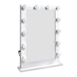 Embellir Make Up Mirror with LED Lights - White MM-FRAME-6550-WH