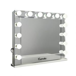 Embellir Make Up Mirror with LED Lights - Silver 65 x 80cm MM-FRAME-6580-MI