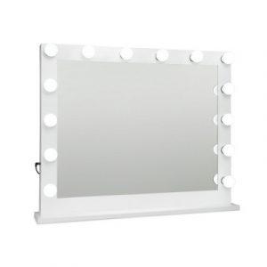 Embellir Make Up Mirror with LED Lights - White 65 x 80cm MM-FRAME-6580-WH