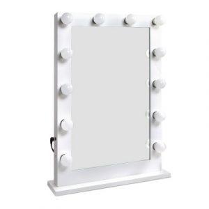 Embellir Make Up Mirror with LED Lights - White 75 x 50cm MM-FRAME-7550-WH