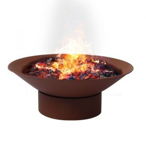 2 IN 1 Steel Fire Pit Firepit Pits Bowl Garden Outdoor Patio Fireplace Heater PH1018