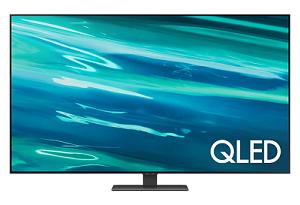 "Samsung QA55Q80AAWXXY 55"" Q80A QLED 4K Smart TV (2021)"