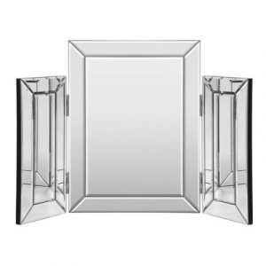 Artiss Mirrored Furniture Makeup Mirror Dressing Table Vanity Mirrors Foldable MF-DRESS-0074-SR