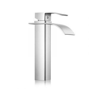 Cefito Basin Mixer Tap - Silver TAP-A-81H36-SI