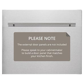 Omega OFI101XKIT 60cm Compact Fully Integrated Dishwasher