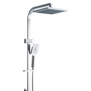 Cefito WELS 8'' Rain Shower Head Set Square Handheld High Pressure Wall Chrome SHOWER-B2-AQ-8-SI