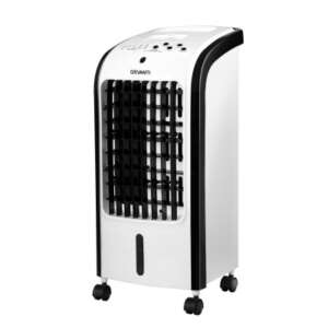 Devanti Evaporative Air Cooler Conditioner Portable 4L Cooling Fan Humidifier EAC-C-RC-02S-GR